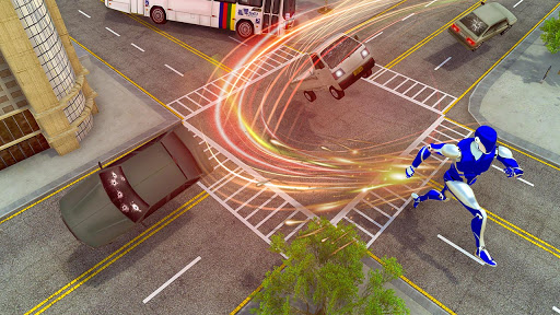 Super Speed Rope Hero : Flying Superhero Games 1.0 screenshots 2