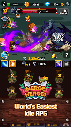 Merge Heroes Frontier: Casual RPG Onlineのおすすめ画像1