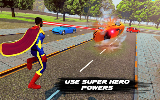 flying hero crime city theft screenshot 2