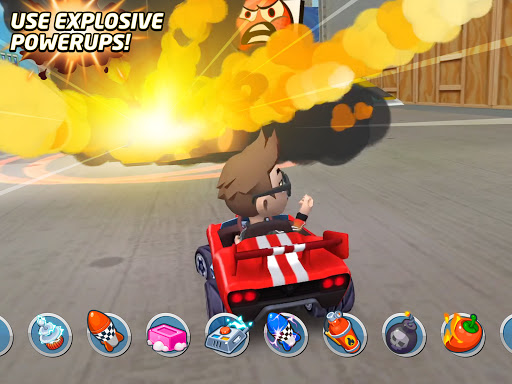 Boom Karts - Multiplayer Kart Racing apkpoly screenshots 8