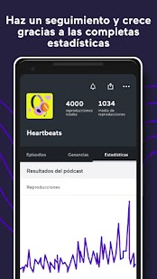 Anchor - Aplicación para crear podcasts Screenshot