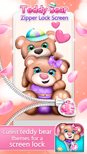 Teddy Bear Zipper Lock For Pc – Free Download On Windows 10/8/7 And Mac 1