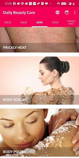 Daily Beauty Care - Skin, Hair, Face, Eyes 2.1.0 Screenshots 4