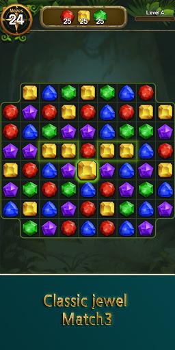 Jewel & Gem Crush - Match Master 1.0.4 screenshots 1