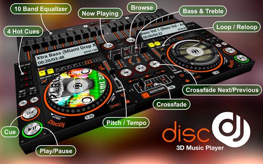 DiscDj 3D Music Player - 3D Dj Music Mixer Studio  Screenshots 5