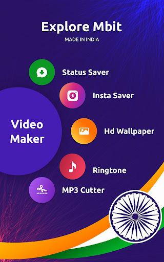 MBit Music Particle.ly Video Status Maker & Editor  screenshots 2