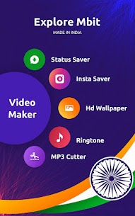 MBit Music Particle.ly Video Status Maker & Editor 5.2 MOD for Android 2