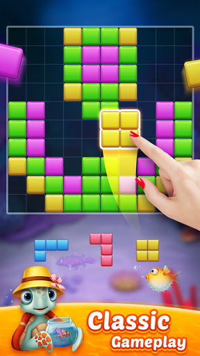 Block Puzzle Fish u2013 Free Puzzle Games modavailable screenshots 2
