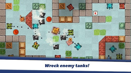 Awesome Tanks Mod Apk 1.312 (Unlimited Money) 5