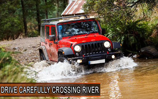 Offroad Jeep Driving Simulator: 4x4 Offroad Racing  screenshots 6