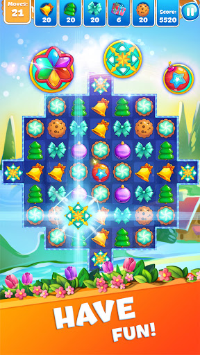Christmas Sweeper 3 - Puzzle Match-3 Game android2mod screenshots 15
