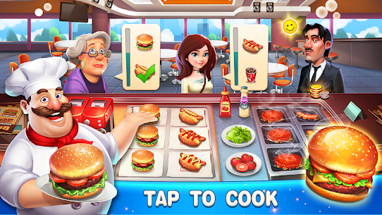 Happy Cooking: Chef Fever 1.3.0 Apk + Mod 1