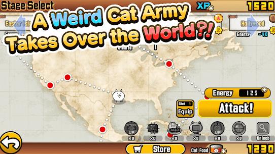 The Battle Cats (MOD, Unlimited XP/Cat Food) 1