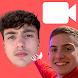 Michou et Inoxtag Faux Appel Vidéo