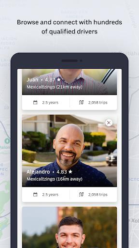 Uber Fleet modavailable screenshots 5
