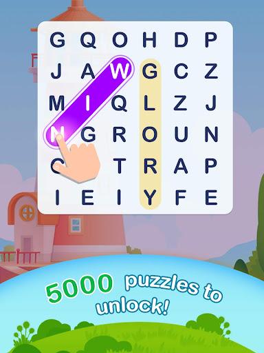 Word Search Pop - Free Fun Find & Link Brain Games  screenshots 6