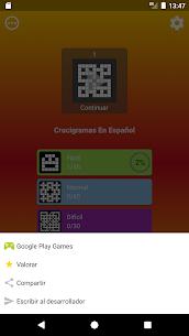 Crucigrama en español 5