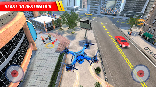 Drone Attack Flight Game 2020-New Spy Drone Games 1.5 screenshots 1