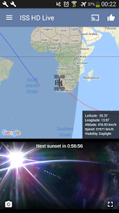 ISS Live Now: Live HD Earth View and ISS Tracker 6.2.9 Screenshots 4