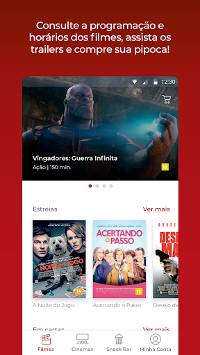 Cinemark Brazil apktram screenshots 3