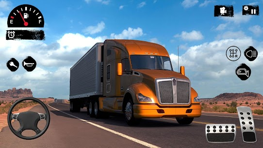 American Truck Driver 3D  Top Driving Game 2021 Apk Download New 2021 2