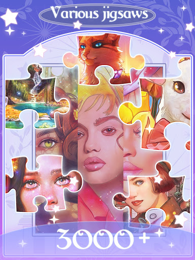 Happy jigsaw puzzles - calm & relax Apkfinish screenshots 11
