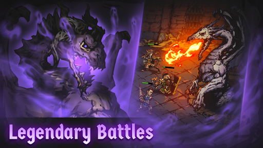 Darkest AFK - free Idle RPG offline & PVE Battler apkdebit screenshots 8