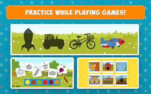 The Blue Tractor: Fun Learning Games for Toddlers 1.2.0 Screenshots 21