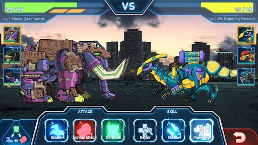 Dino Robot Battle Field - Armoured Dinosaurs War  screenshots 21