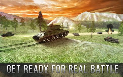 Tank Battle 3D: World War II (обновлено v 2.02) Мод (много денег) 1