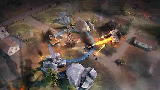World War Commander: WW2 RTS - War Strategy Game Apkfinish screenshots 2