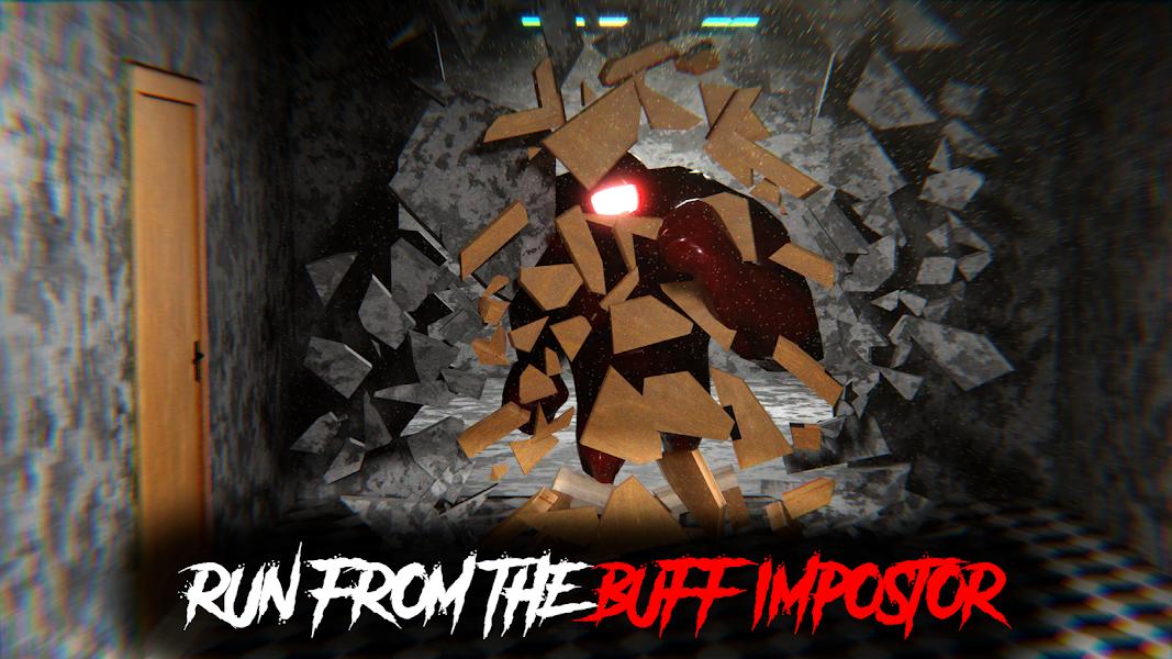 Buff Imposter Scary Creepy Horror
