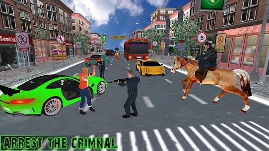 US Police Horse Criminal Chase 1.2 Unlocked APK Mod Free 2