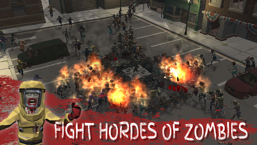 Overrun: Zombie Horde Apocalypse Survival TD Game apkpoly screenshots 16