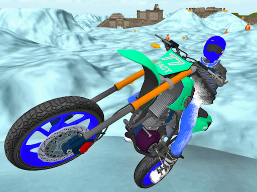 Motorcycle Escape Simulator - Fast Car and Police  screenshots 8