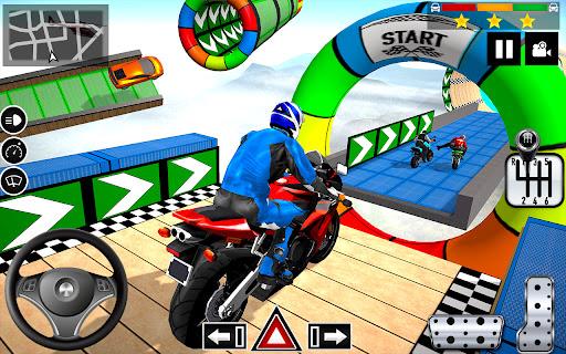 Impossible Stunts Bike Racing Games 2018: Sky Road  screenshots 11