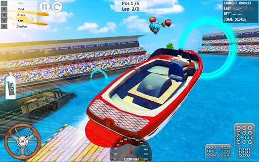 Xtreme Boat Racing 2019: Speed Jet Ski Stunt Games android2mod screenshots 6