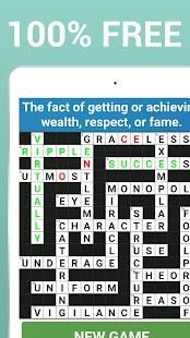 Crossword Puzzle Free Classic Word Game Offline