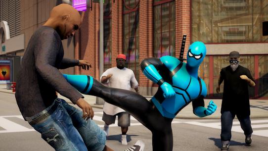 POWER SPIDER v3.1 MOD APK – Ultra Superhero Parody Game 1