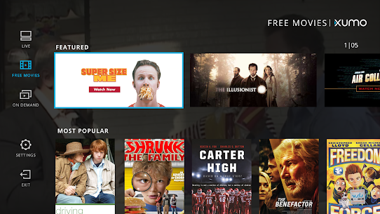 XUMO for Android TV: Free TV shows & Movies 2