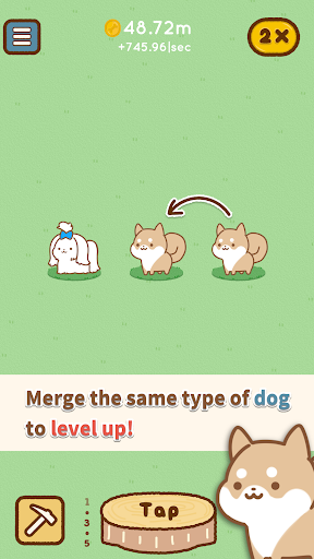 All star dogs - merge puzzle game Apkfinish screenshots 2