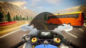 Bike VS Bus Free Racing Games – New Bike Race Game