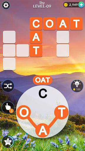 Word Mind: Crossword puzzle  screenshots 1
