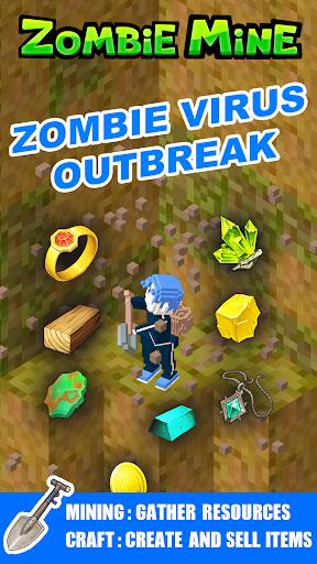 Zombie Mine - survival craft  screenshots 2
