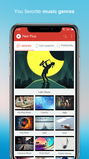 Free Music - Red Plus 1.89 Screenshots 8