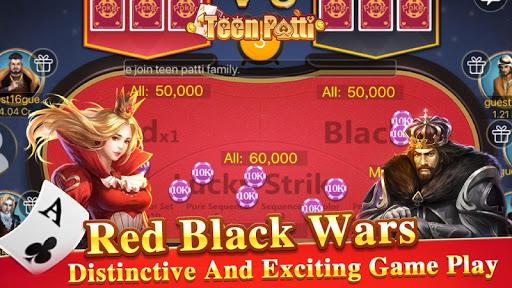 Teen Patti Tour - 3 Patti Indian Poker Card Game 1.1.2 screenshots 6