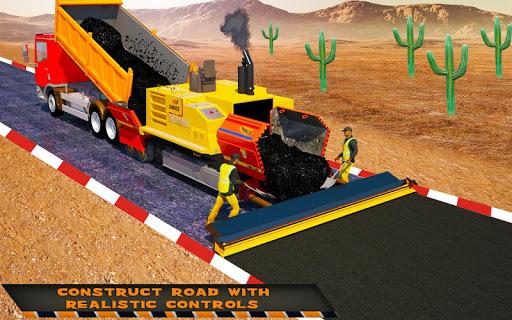 Highway Construction Road Builder 2020- Free Games 2.0 screenshots 14