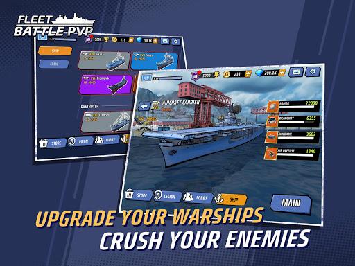 Fleet Battle PvP screenshots 7