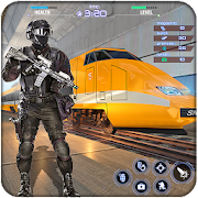 Train Counter Terrorist Attack FPS Shooting Games