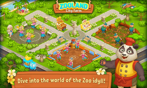 Farm Zoo: Happy Day in Animal Village and Pet City 1.40 Screenshots 15